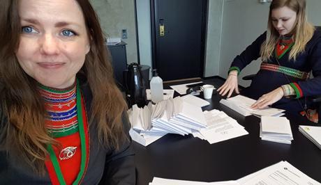 Landspartiet Svenska Samer Valarbete 2021