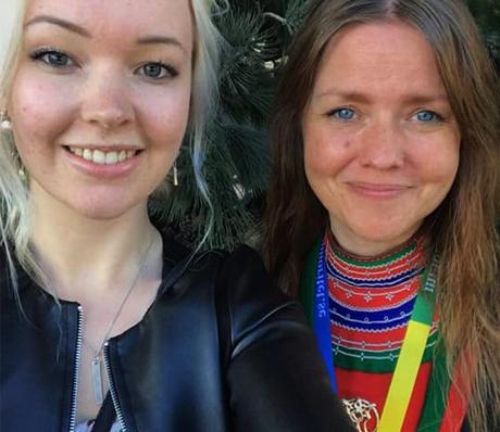 Naadja Östergren och Marie Persson Njajta